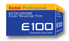 Ektachrome slide film.